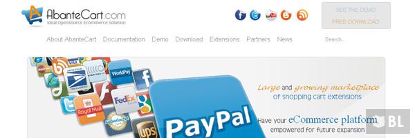 Abantecart Best Open Source Free E Commerce Shopping Cart App 2013