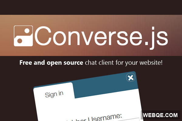 Converse.js - A free chat client similar to Facebook chat