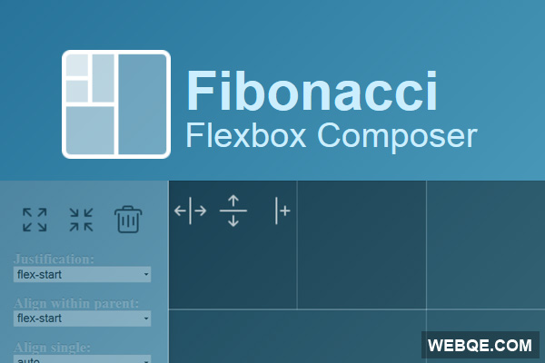 Fibonacci - A layout composer to generate page HTML and CSS