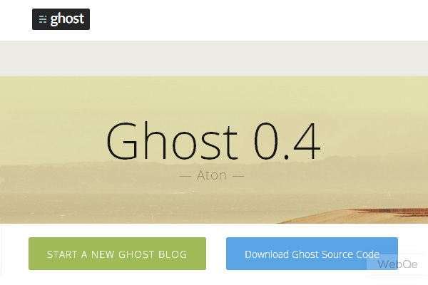 Ghost A Fresh New Blogging Platform To Use In 2014