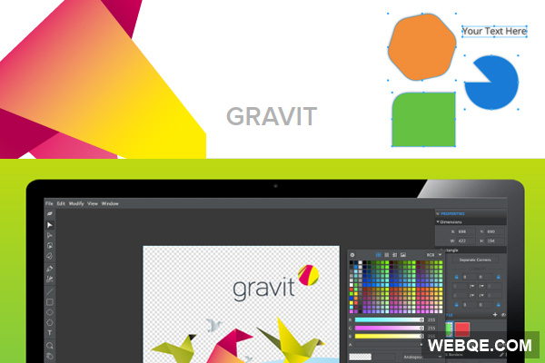 Gravit.io - A cutting-edge app open source design tool