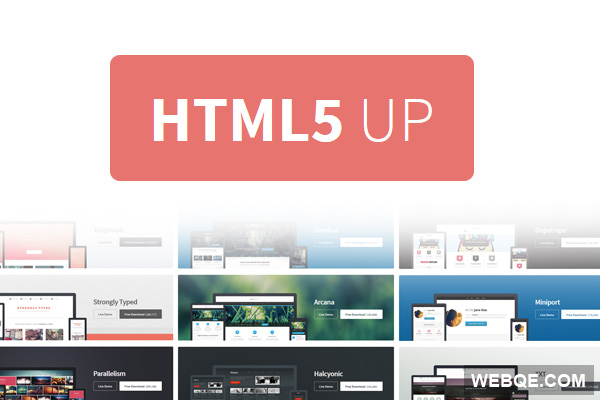 HTML5up - Free 20+ responsive HTML5 & CSS3 website templates