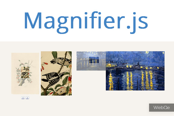 Magnifierjs Javascript Magnify Image With Zoom Effects