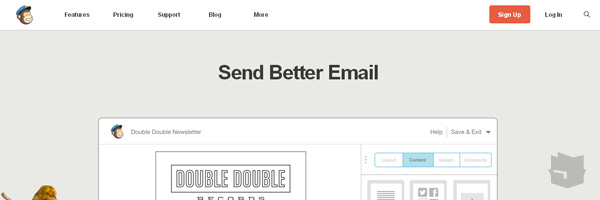 Mailchimp Best Free Email Marketing Tool Web App Services 2013