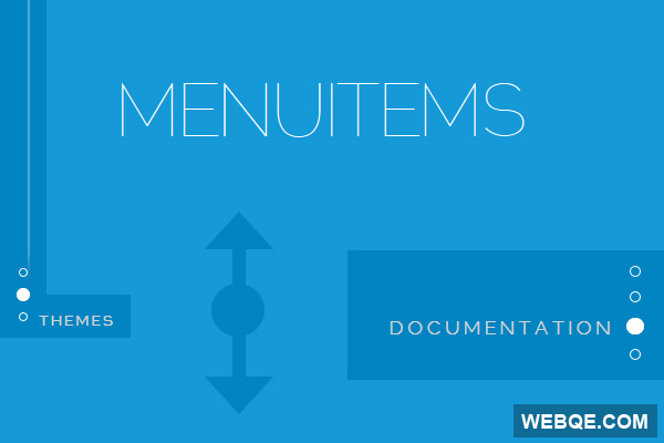MenuItems - A simple jQuery flying navigation menu plugin