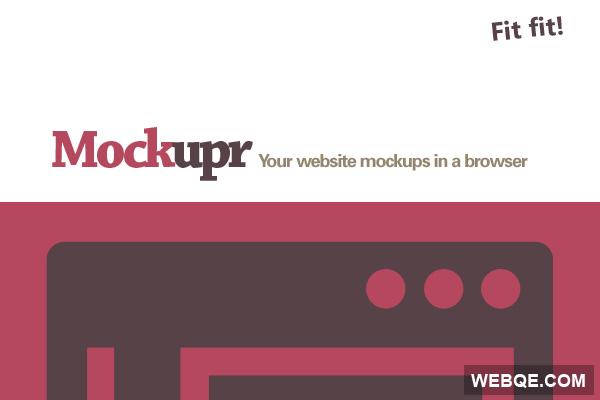 Mockupr - Show Your Web Design Mockups Online
