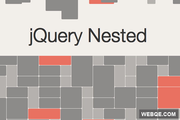 Nested - Create complete gap free grid layout with jQuery