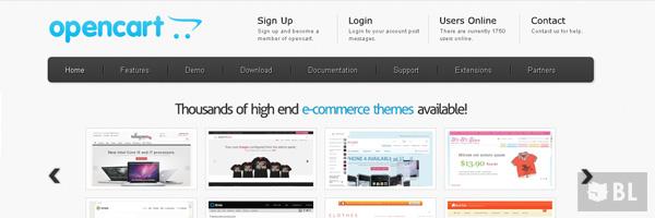 Opencart Best Open Source Free E Commerce Shopping Cart App 2013