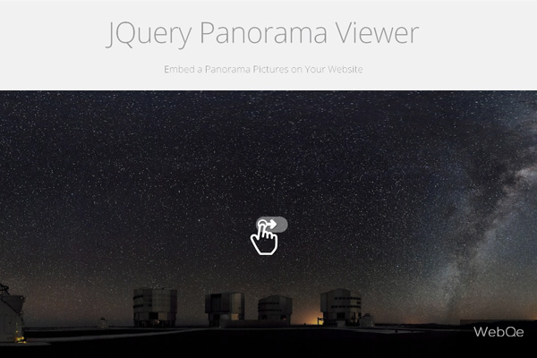 Panorama Viewer Drag To Slide Jquery Panorama Image Plugin
