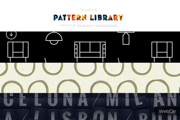 Pattern Library Web Design Background Pattern Images