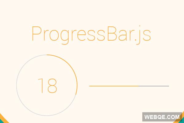 Progressbar.js - A vector SVG progressbar JavaScript library