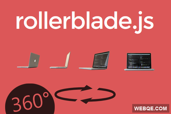 Rollerblade - 360 degree Image Rotator with jQuery