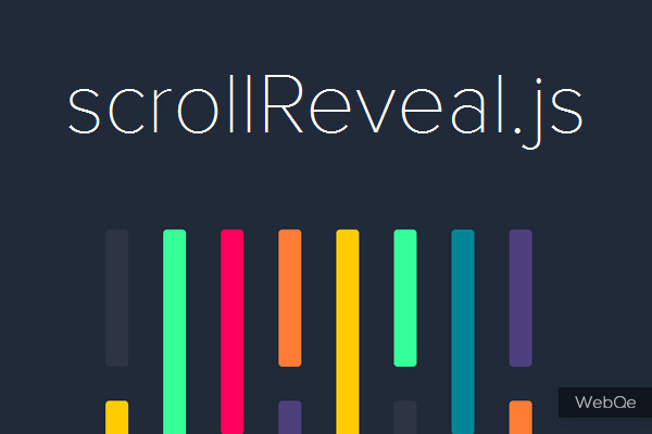 Scrollrevealjs A Cool Scroll Reveal In Js With Css3