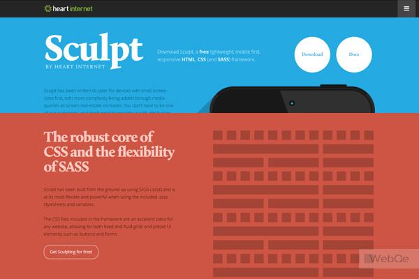 Sculpt A Free Lightweight Responsive Website Framework
