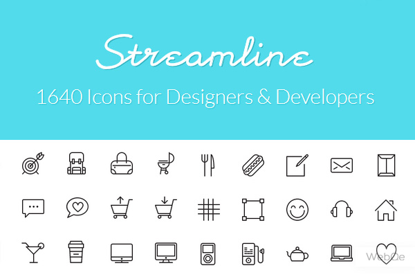 Streamline Icons 1640 Pure Line Ios7 Vector Icons 100 Free Icons