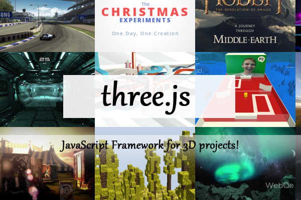 Threejs A Free Webgl Javascript Framework To Create 3d