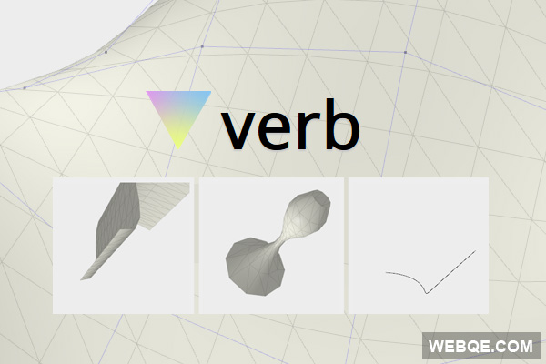 Verb - A web-based CAD library to create 3D NURBS with JavaScript
