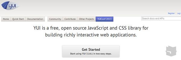 Yui Best Javascript Frameworks Libraries Of 2013