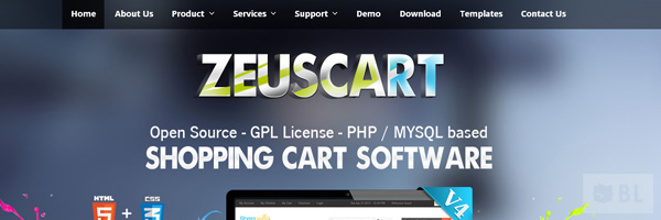 Zeuscart Best Open Source Free E Commerce Shopping Cart App 2013